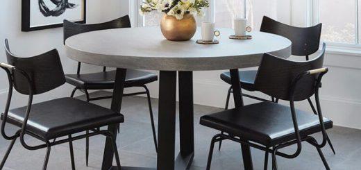siyah-yuvarlak-yemek-masasi