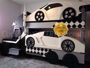 arabali çocuk odasi takimlari 8